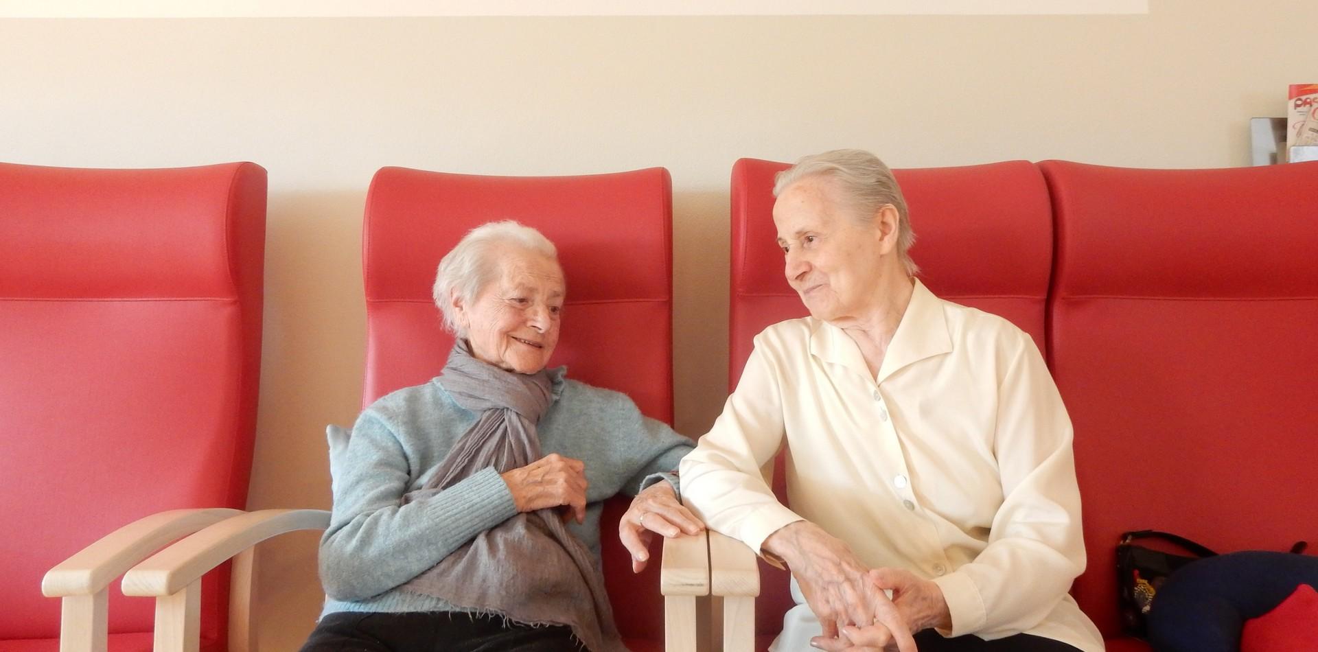 Una persona che ha cura di un'altra rappresenta il più grande valore della vita